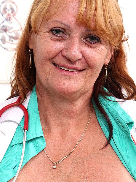 Hot female doctor Glenda M