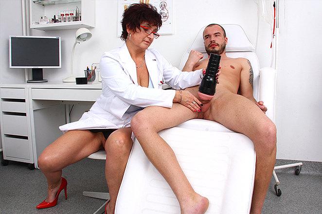 Sexy lady doctor Greta D