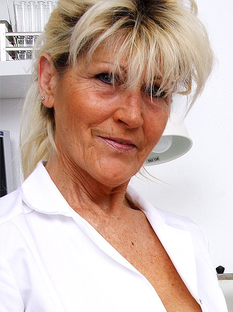 Hot female doctor Hana C