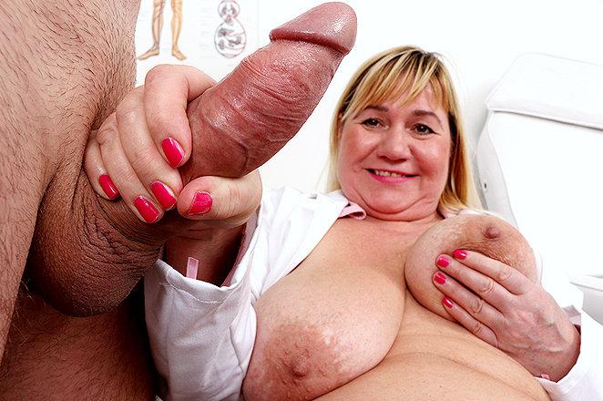 Sexy lady doctor Irma W
