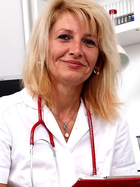 Hot female doctor Ivona P