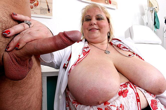 Sexy lady doctor Lorna B