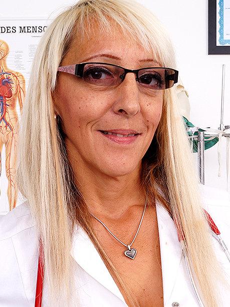 Hot female doctor Marketa