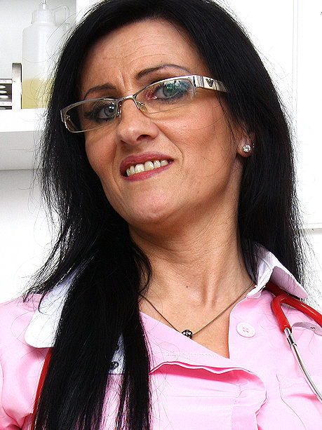 Hot female doctor Marta G