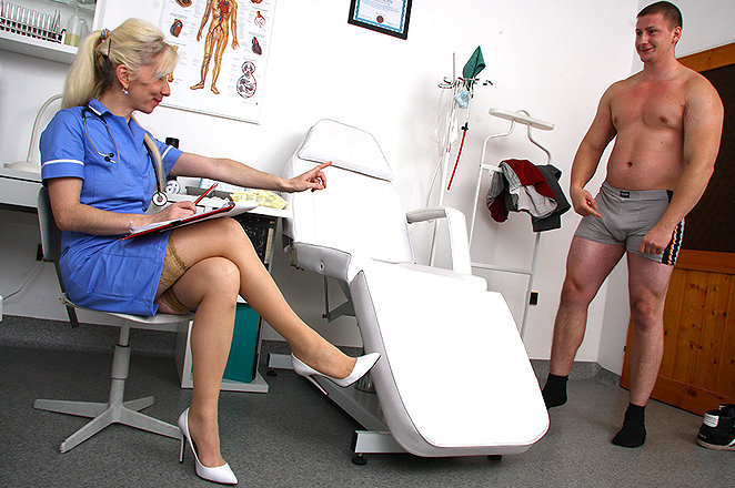 Sexy lady doctor Maya C