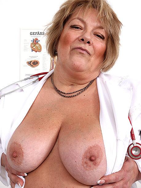 Hot female doctor Merna P