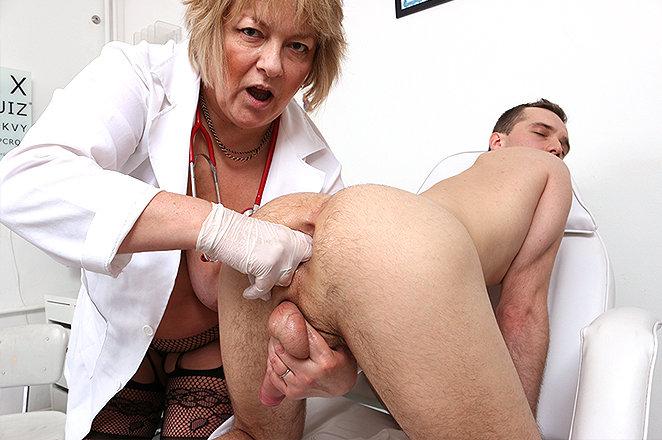 Sexy lady doctor Merna P