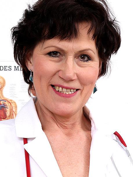 Hot female doctor Mila