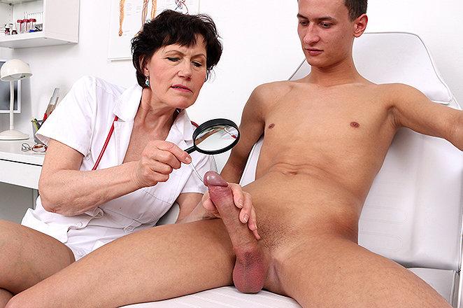 Sexy lady doctor Mila