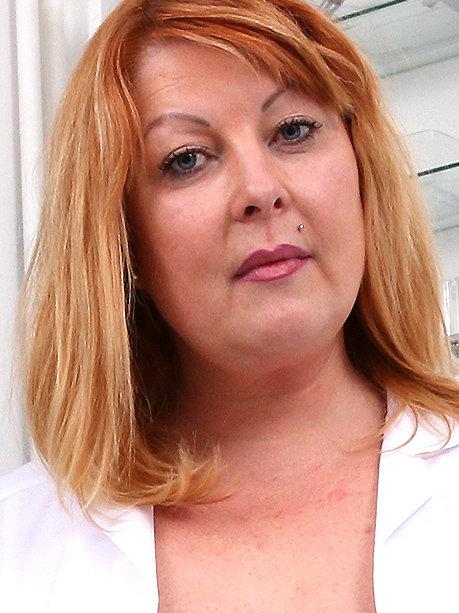 Hot female doctor Moira P