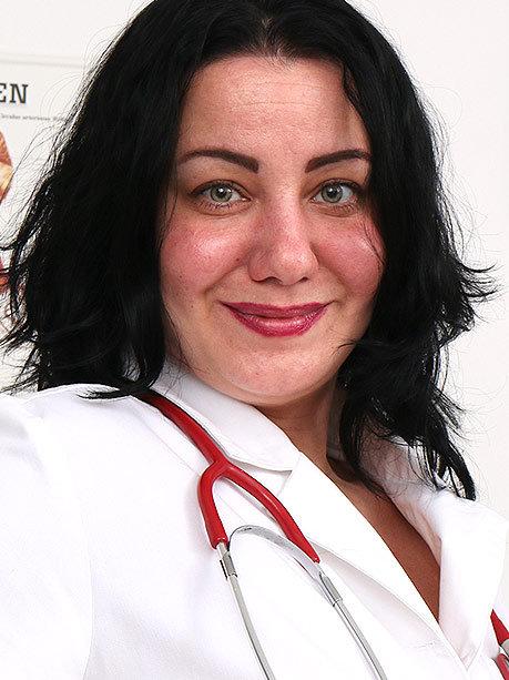 Hot female doctor Radha M