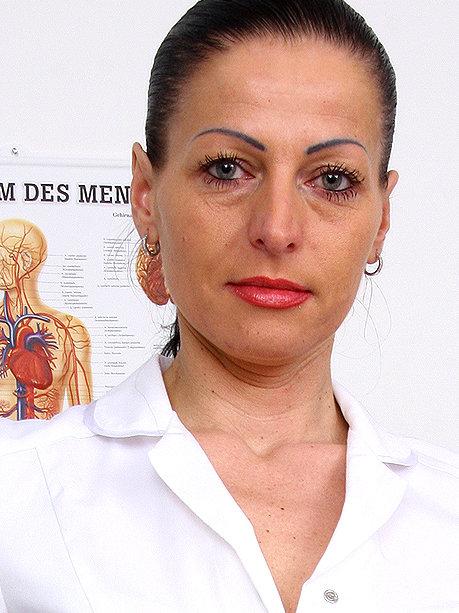 Hot female doctor Renate A