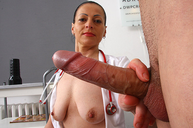 Sexy lady doctor Renate A