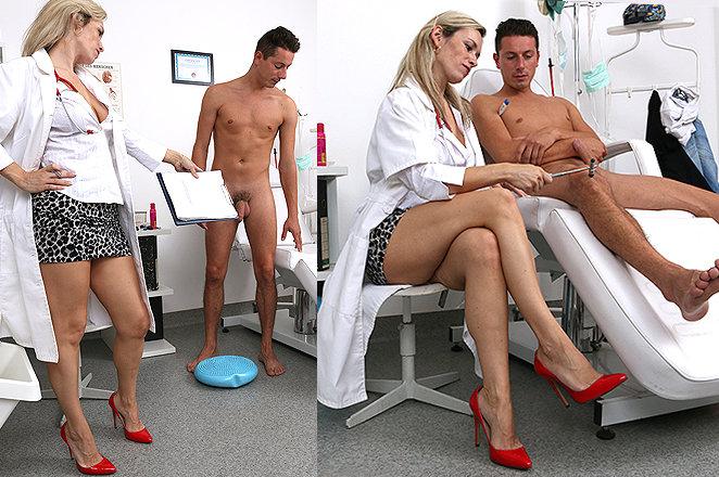 Sexy lady doctor Retta C