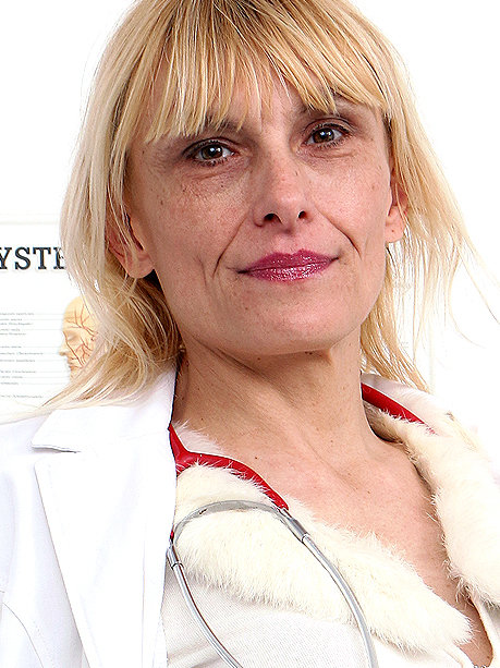 Hot female doctor Roberta C