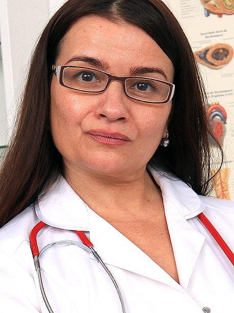 Hot female doctor Romana C