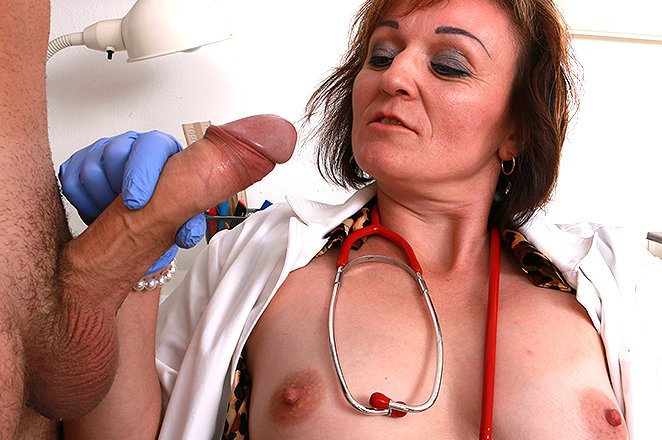 Sexy lady doctor Rosa T