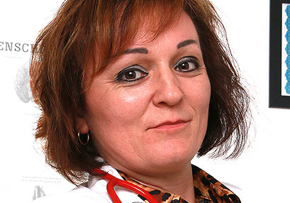 Sexy milf doctor Rosa T at SpermHospital.com