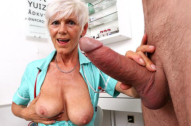 Sexy lady doctor Ruta M