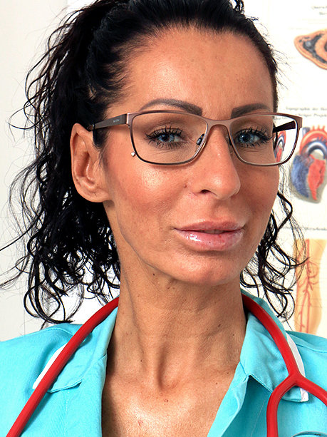 Hot female doctor Stela W