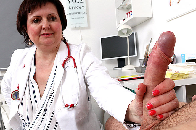 Sexy lady doctor Tanya P